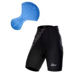 BASIC DE LUXE női kerékpáros kantár nélküli betétes rövidnadrág, fekete - ROGELLI